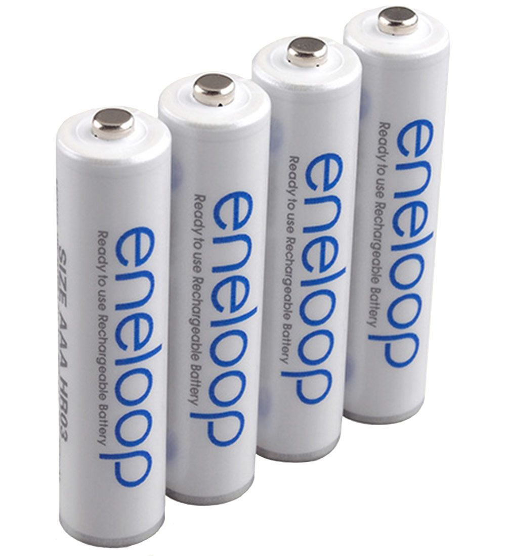 Eneloop Rechargeable Batteries 4 Pack Aaa Aaa Rechargeable Batteries Sanyo Nimh Battery