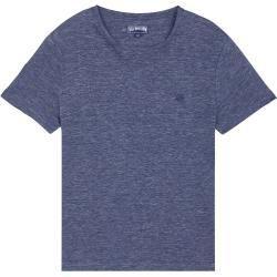 Herren Ready To Wear Solid T Shirt Aus Leinenjersey Fur Herren T Shirt Tiramisu Blau S V In 2020 Mens Tshirts Mens Shirts Shirts