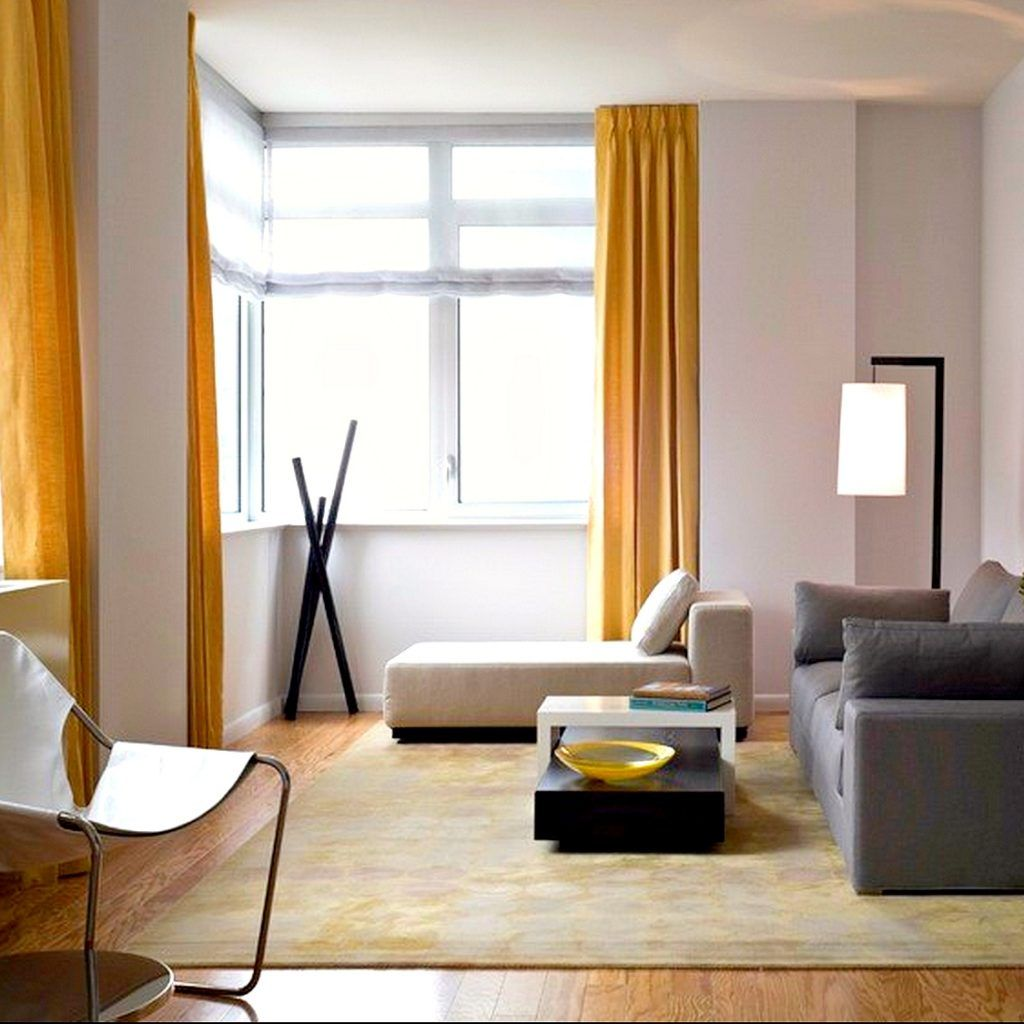 Yellow Grey Living Room Curtains | http://intrinsiclifedesign.com ...