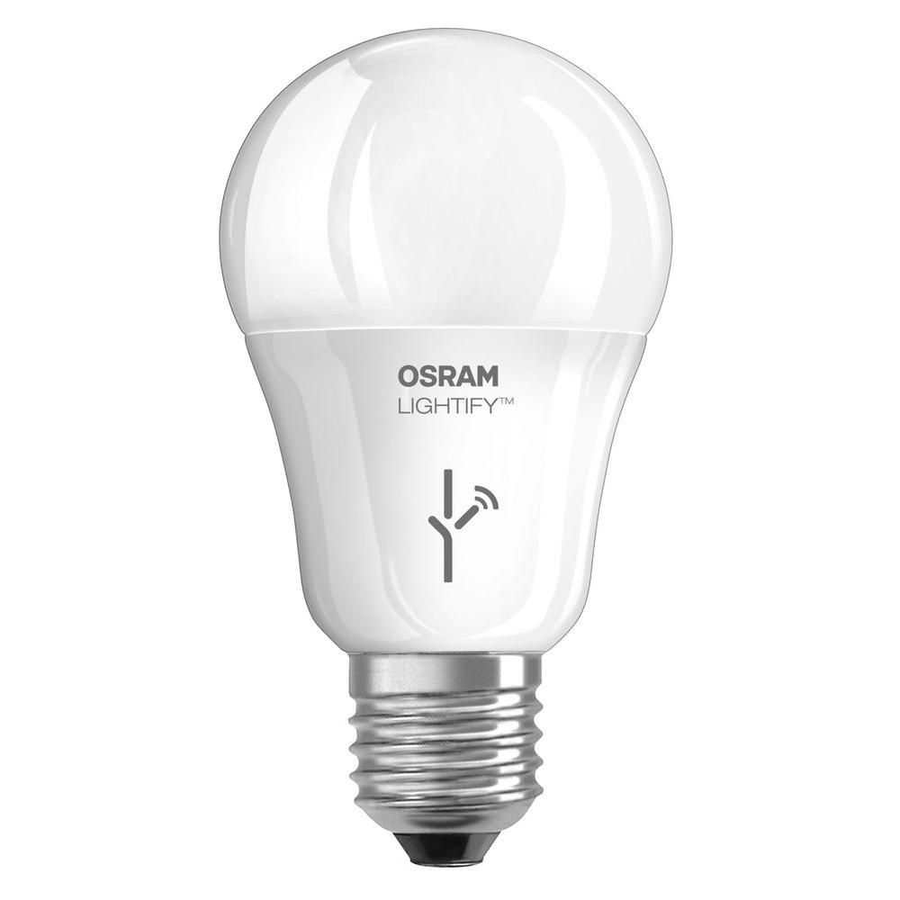 Osram Sylvania Lightify 60w Equivalent Tunable Soft White A19 Dimmable Led Light Bulb Products Dimmable Led Lights Light Bulb Bulb