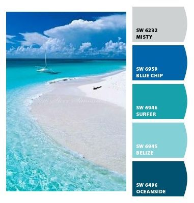 Image Result For Caribbean Blue Paint Colors