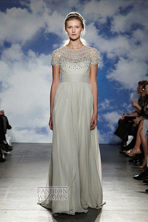Свадебная мода 2015: коллекция Jenny Packham фото №3