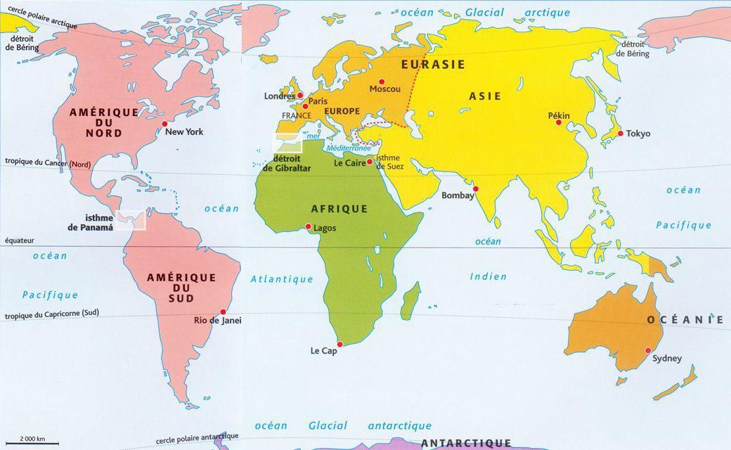 Resultat De Recherche D Images Pour Planisphere Nom Des Pays