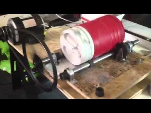 Make A Rock Tumbler Rock Tumbler Diy Rock Tumbler Homemade Machine