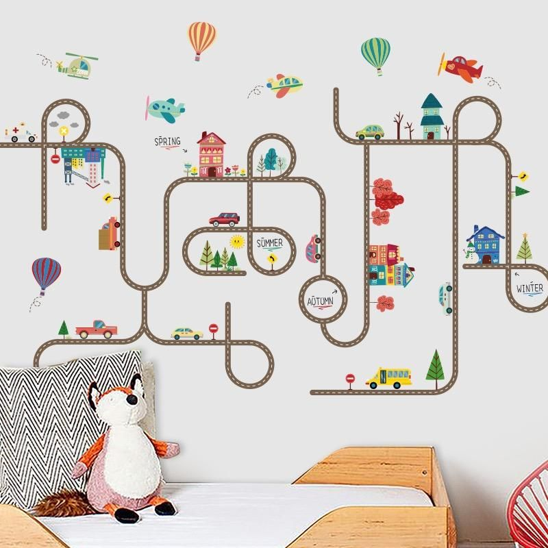 Wall Decals For Kids Kids Wall Decals Kids Bedroom Wall Decor Playroom Wall Decals