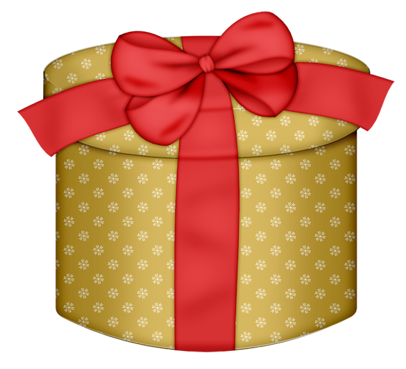 Yellow round gift box with red bow png clipart fonts and yellow round gift box with red bow png clipart negle Images