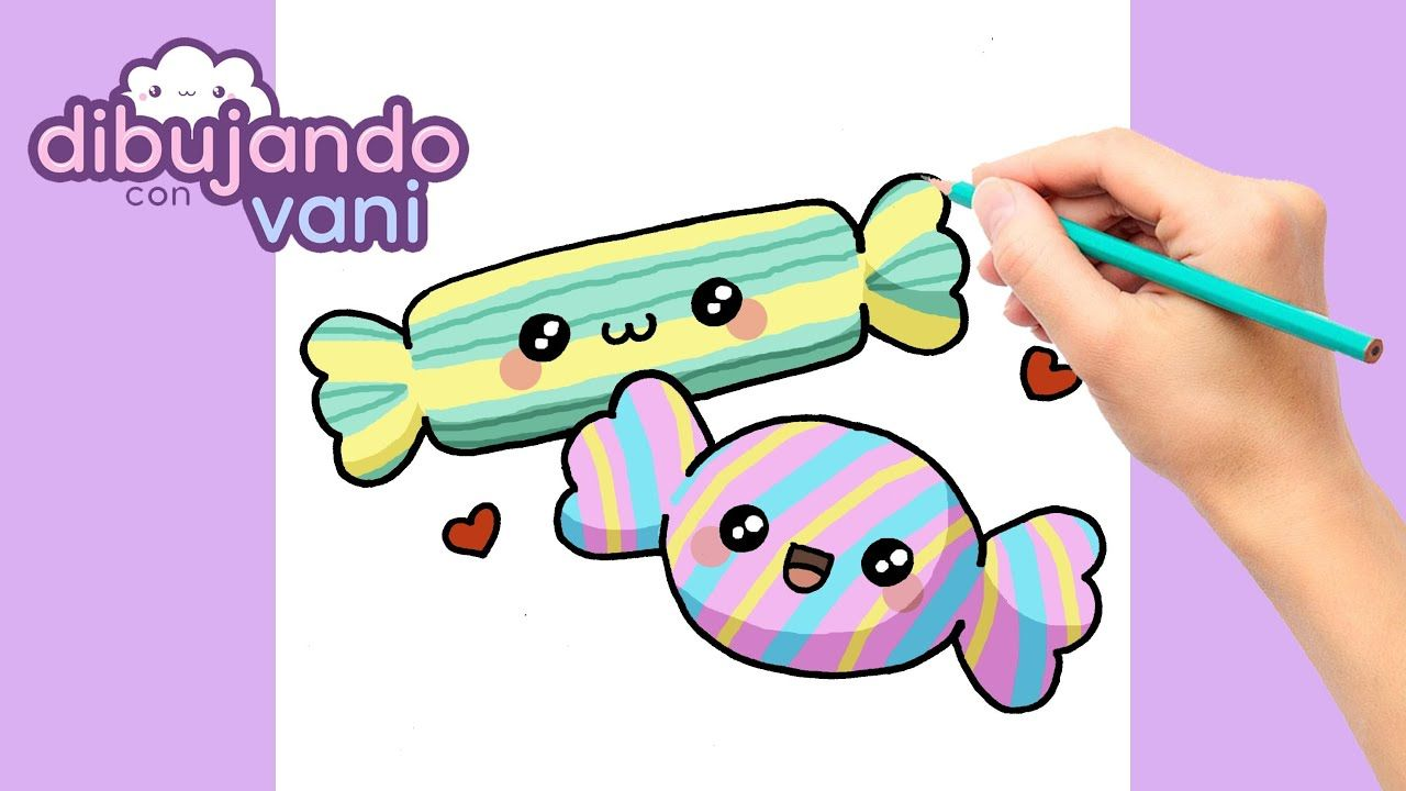 Como Dibujar Caramelos Paso A Paso Dibujos Para Dibujar Imagenes Fac Dibujos Kawaii Dibujos Animados Kawaii Dibujos Kawaii De Personas