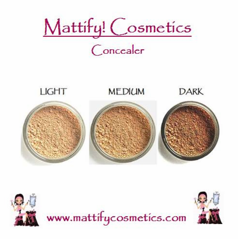 Mattify Cosmetics Makeup for Oily Skin ConcealZit