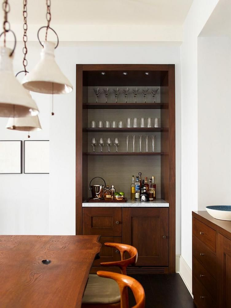 Home Bar Design Ideas for Medium and Small Rooms Dining room