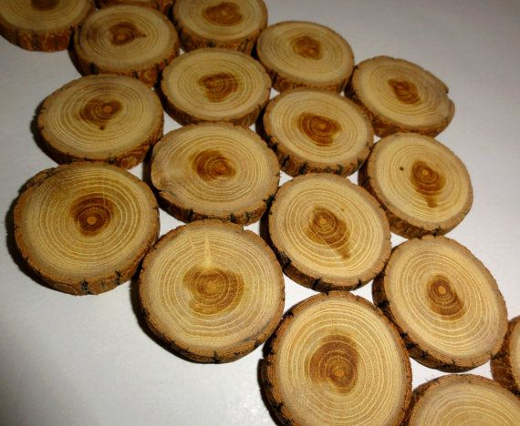 Small Wood Slices 1 2 Inch Small Wood Discs Jewelry By Nayasart