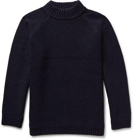 Steven AlanCoper Wool and Cashmere-Blend Rollneck Sweater