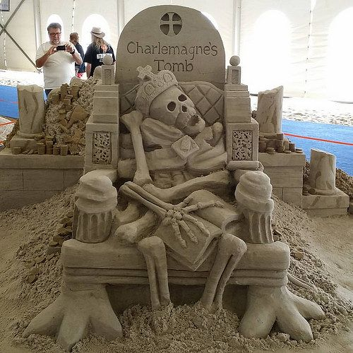 Image result for virginia beach sand sculptures