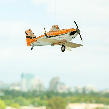Disney S Planes Color In Dusty Crophopper Model Speelgoed Thema Feestje