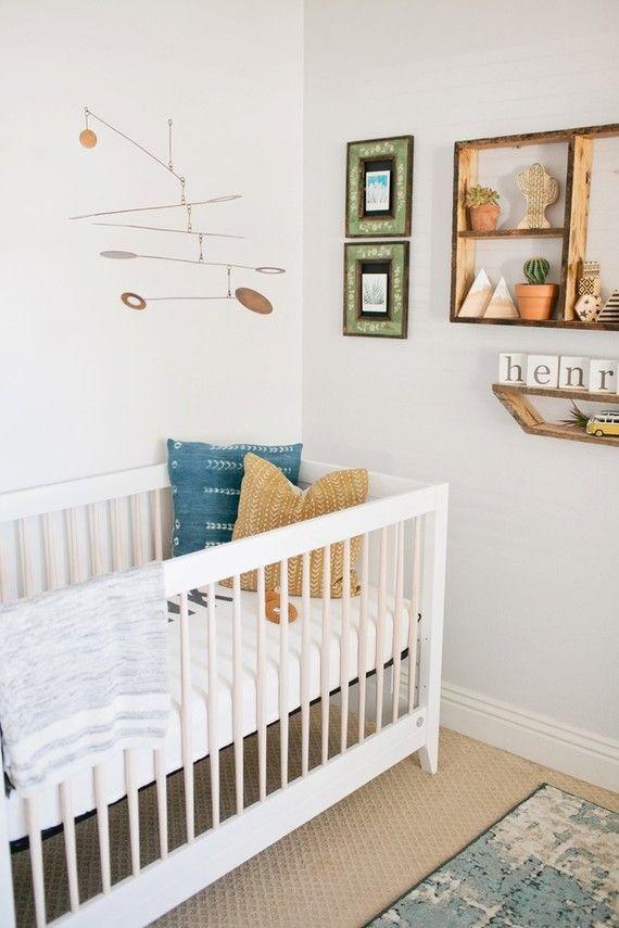 wild and free boy nursery Babyzimmer dekor, Kinderzimmer