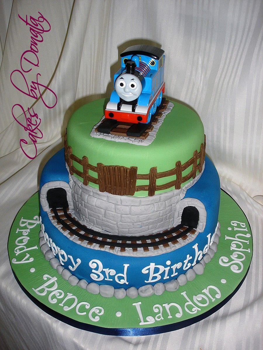 thomas cake Ideas for birthdays Pinterest Thomas cakes Cake