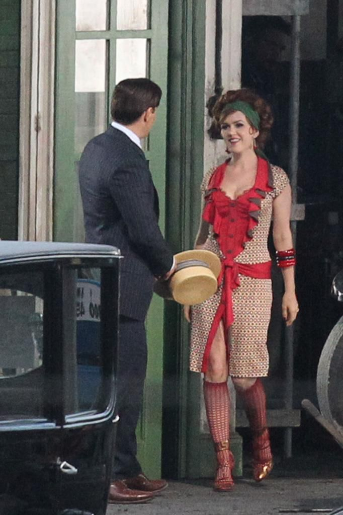 The Great Gatsby 2013 On Location Isla Fisher Myrtle Wilson