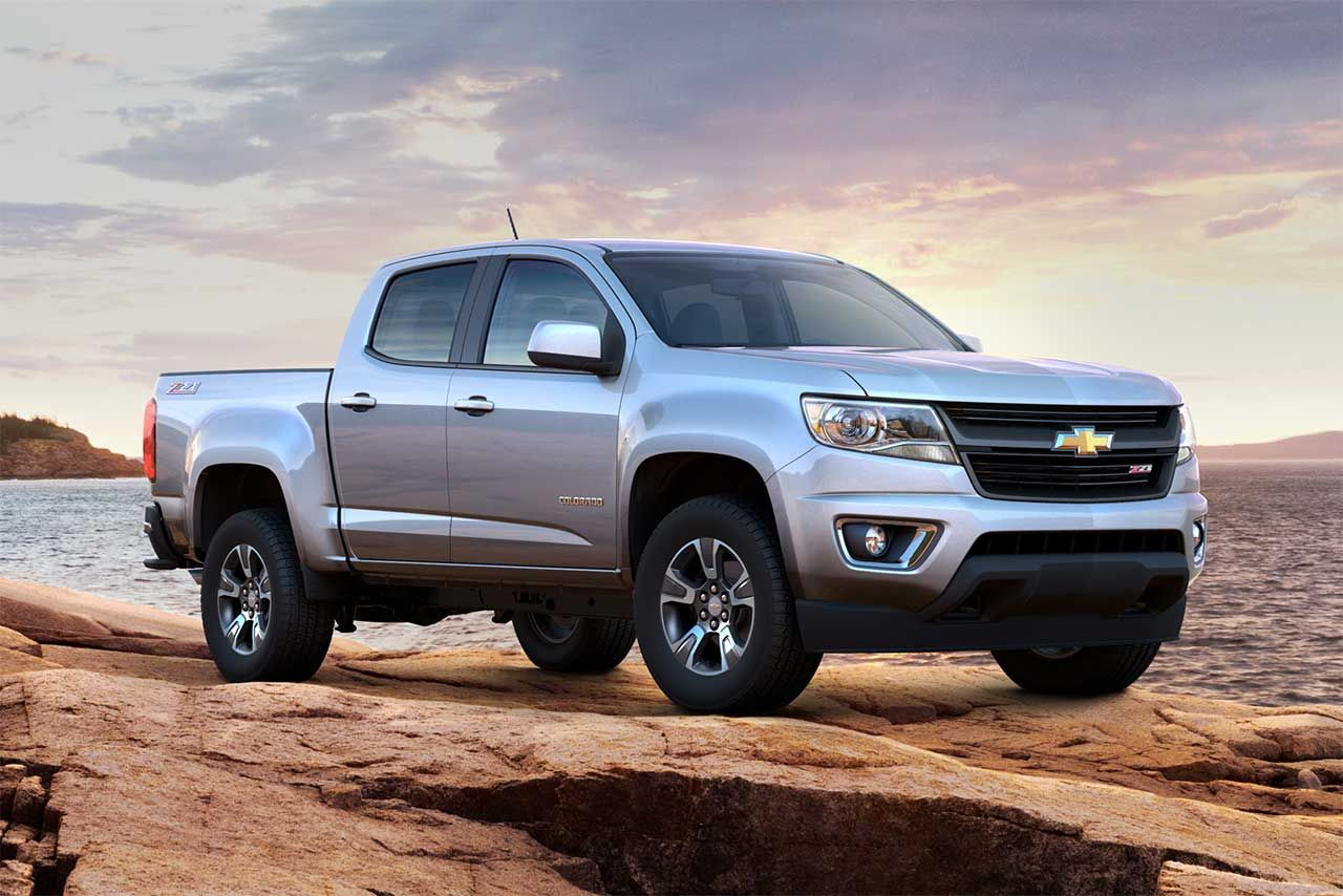 Pin By 4wheelsnews On Pickups Chevrolet Colorado 2015 Chevy