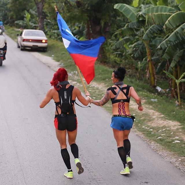 Last Time It Was A 230-mile Jog Around Haiti. This Time It