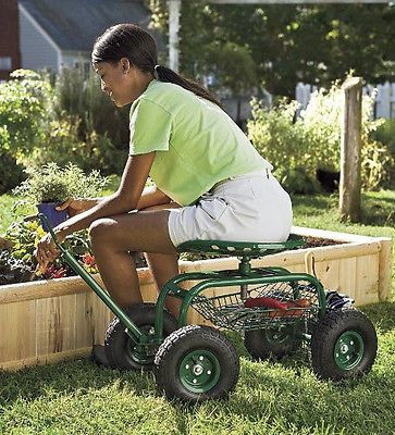 Superbe Tractor Scoot Bucket Basket Gardening  PaintingWorking,Crafting,Organize,Cleaning