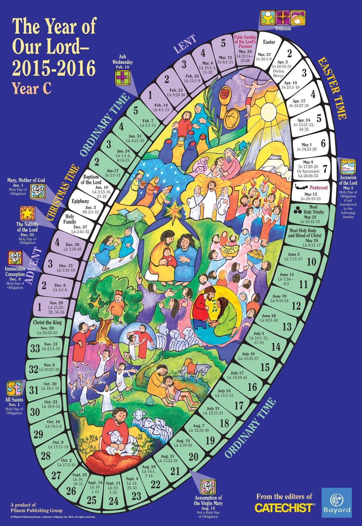 20+ Liturgical Calendar 2021 - Free Download Printable ...