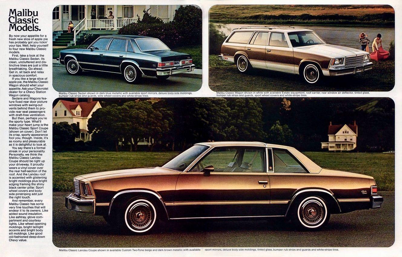 Malibu chevy classic malibu : Chevy Malibu Classic Sedan, Wagon and Coupe | 1980s GM Cars ...