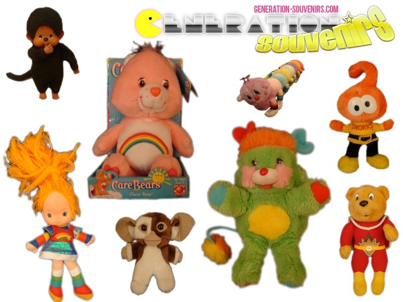 Les peluches et poupées de votre enfance sont de retour sur Génération Souvenirs. Retrouvez-nous sur : www.generation-souvenirs.com