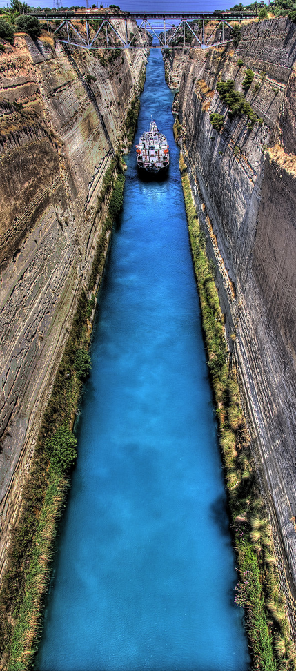 Kudos To Isthmus >> The Isthmus Canal Corinth Greece Modern Greece Greece Travel