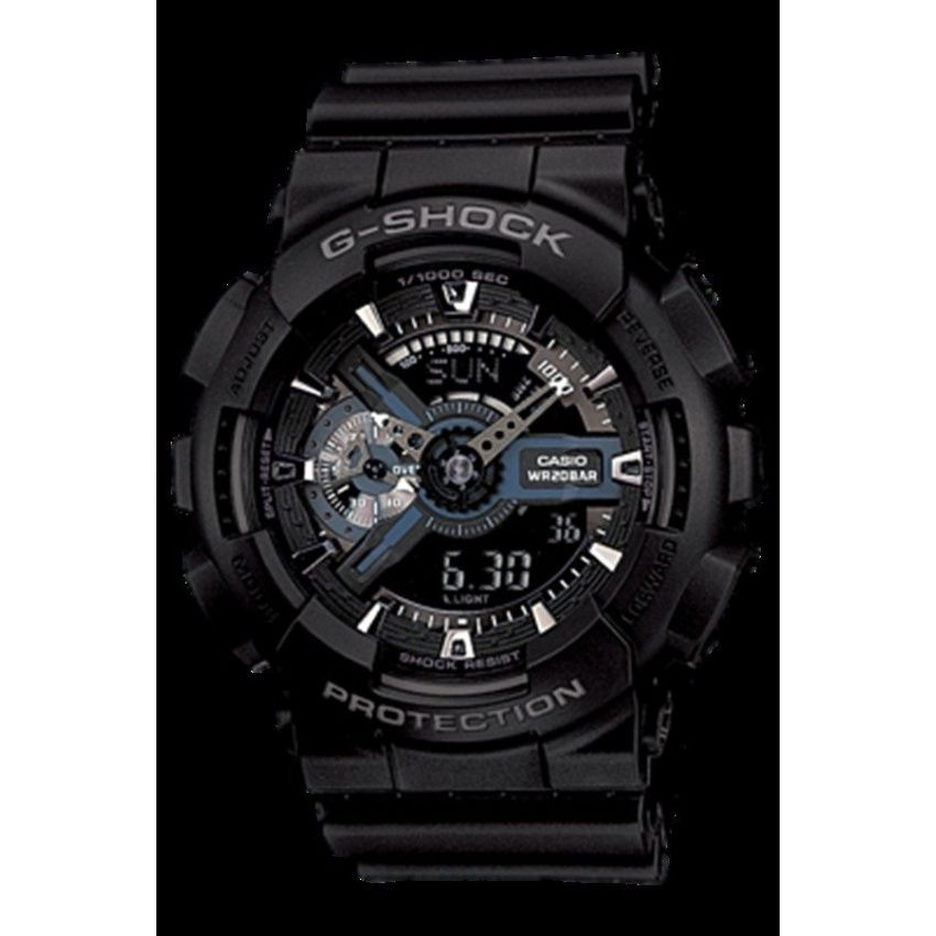 2dc84d0ec1a ห้ามพลาดโปรโมชั่น SP Casio G-shock นาฬิกาข้อมือผู้ชาย สายเรซิ่น รุ่น GA-110-1BDR  (สีดำ)++Casio G-shock นาฬิกาข้อมือผู้ชาย สายเรซิ่น รุ่น GA-110-1BDR (สีดำ)  ...