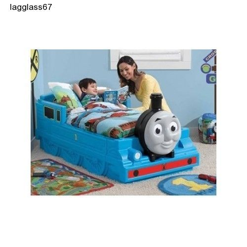 Toddler Bed Storage Bed Rails Sleep Bedroom Fun Thomas The Tank