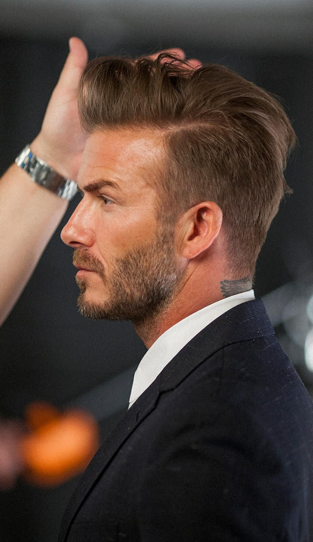 The Secret To Great Hair David Beckham Hairstyle Beckham Haircut Beckham Hair