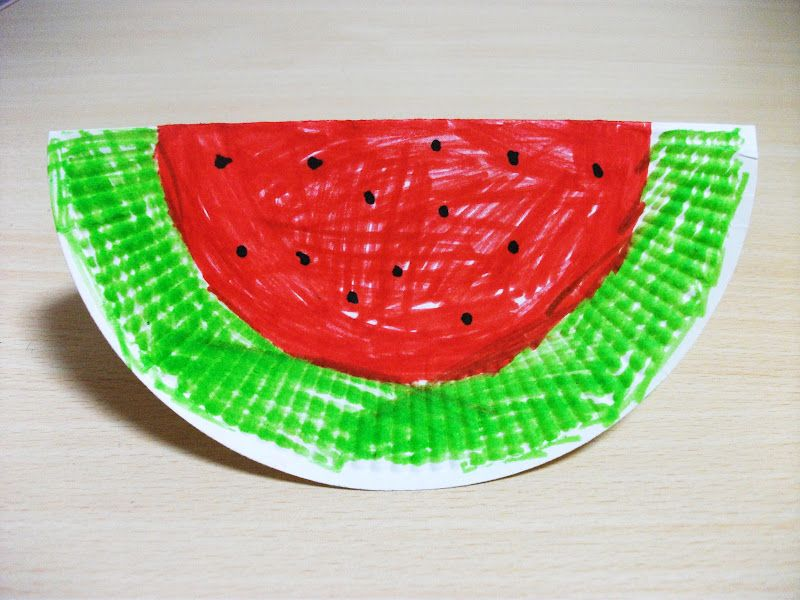 Watermelon Crafts For Toddlers Google Search Keiki Cooking Club