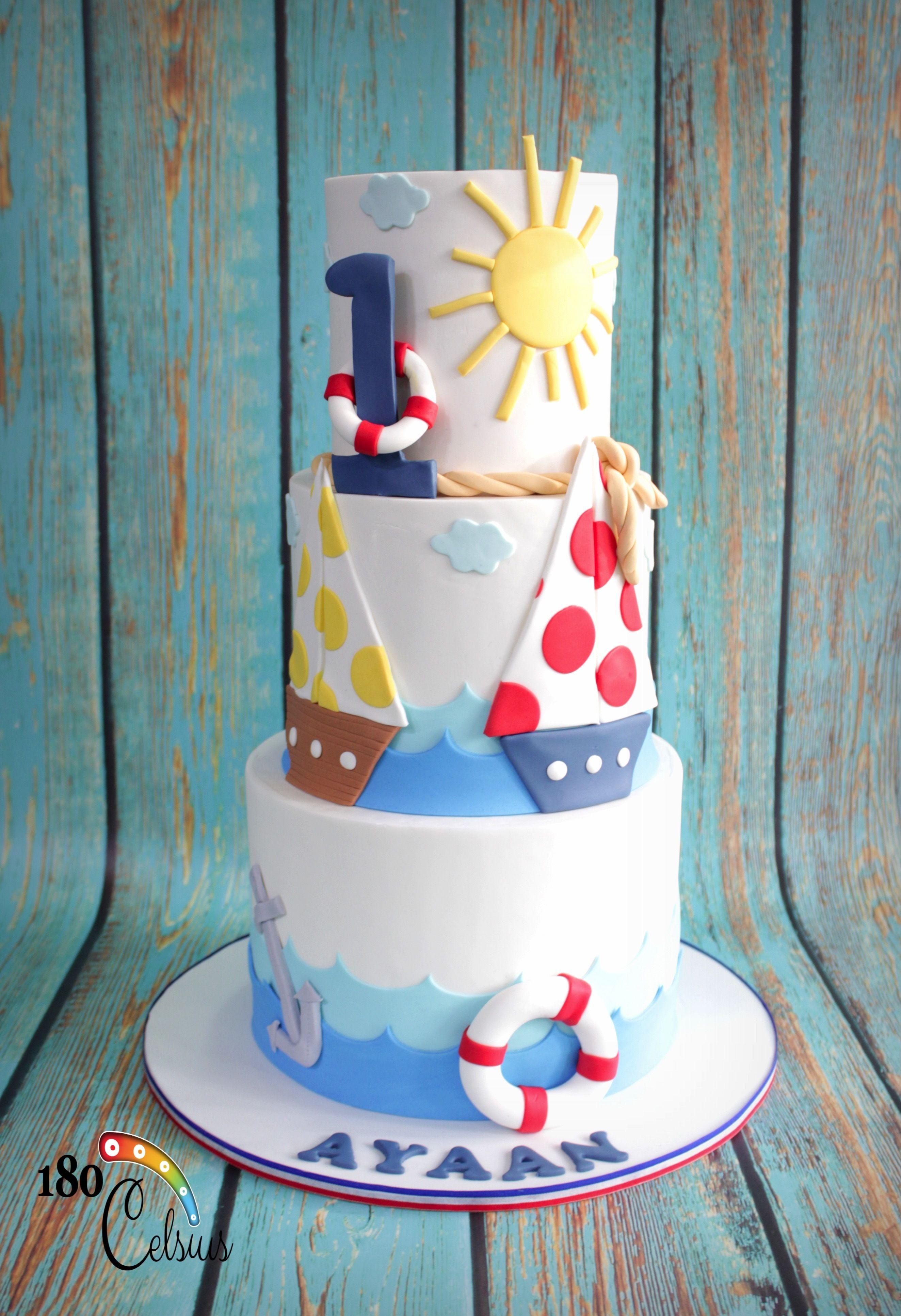 Swell 1St Birthday Boy Big Cakes Boy Birthday Cake 1St Boy Birthday Funny Birthday Cards Online Elaedamsfinfo