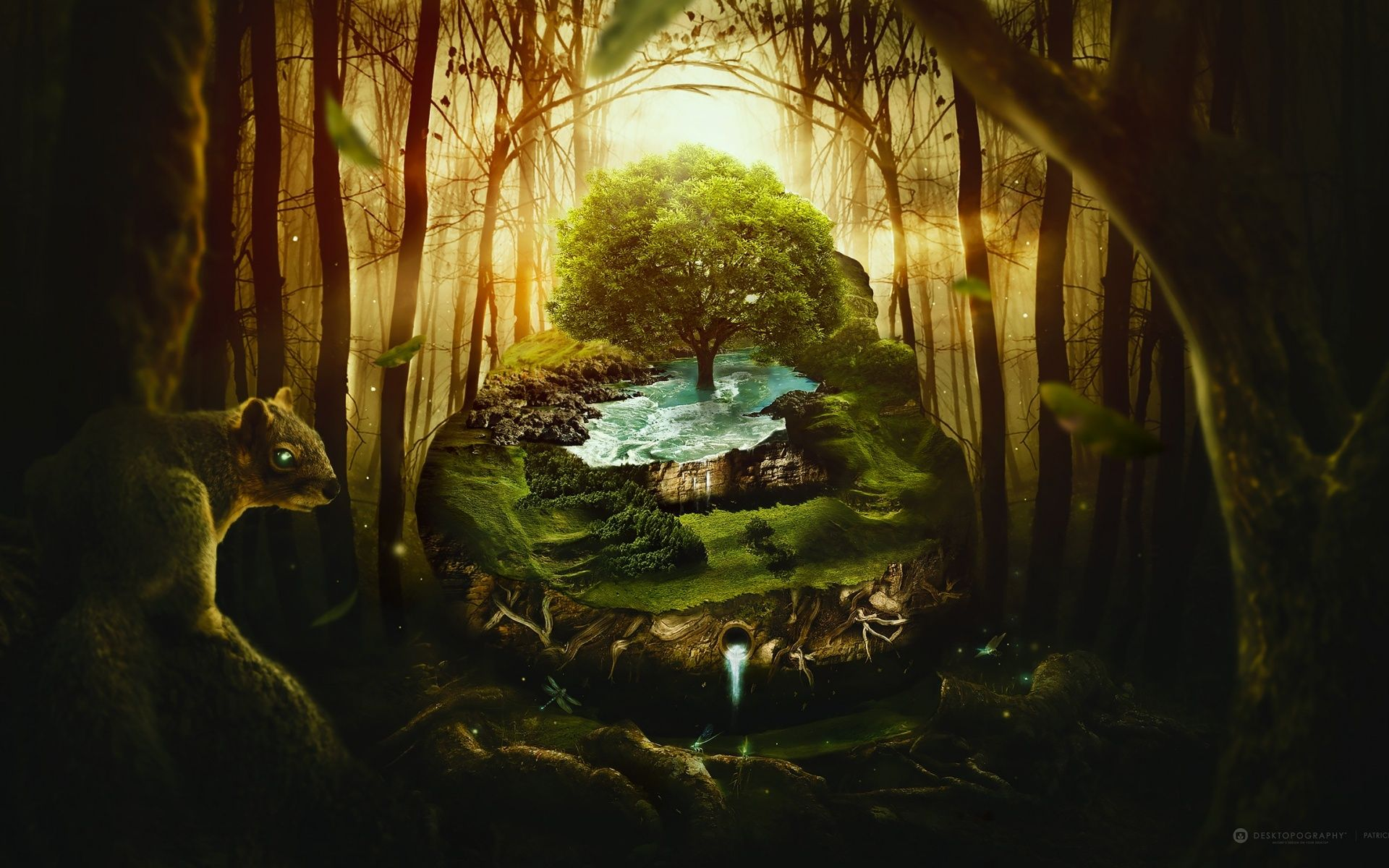 Jungle Wildlife Wildlife Moon Jungle In 2020 Fantasy Tree Fantasy Background Fantasy Forest