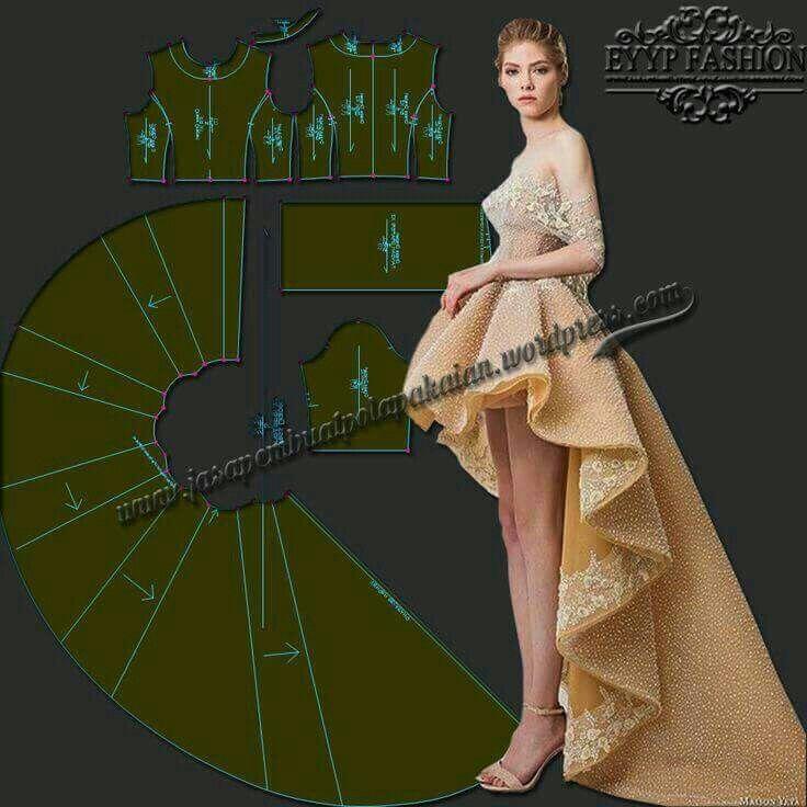 Pin von Nada auf Women\'s fashion. | Pinterest | Pattern, Sewing ...