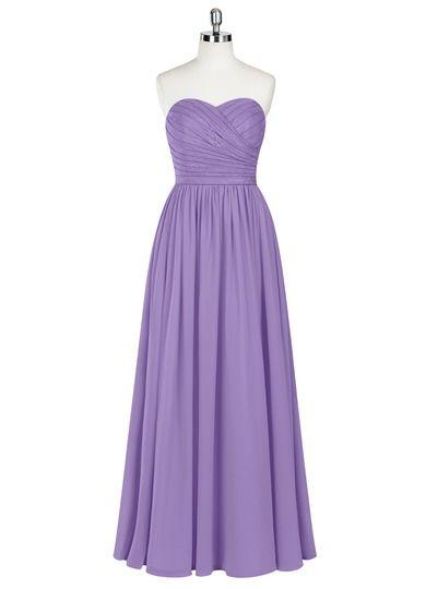 55cf5cfd2d Lilou is a floor-length dress in an A-line cut.  Bridesmaid  Wedding   CustomDresses  AZAZIE