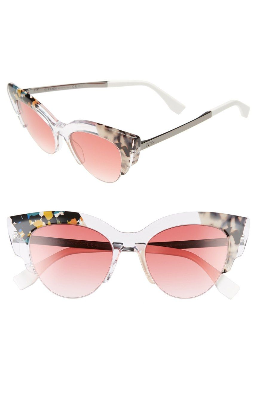 20aa35923c2 Aren t these pink Fendi cat eye sunglasses amazing  Have to order a pair  before the Anniversary Sale ends tomorrow!