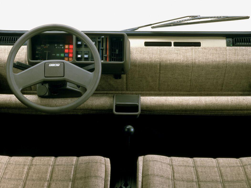 Interior of 1980\'s Fiat Panda | Cars | Pinterest | Fiat panda, Fiat ...