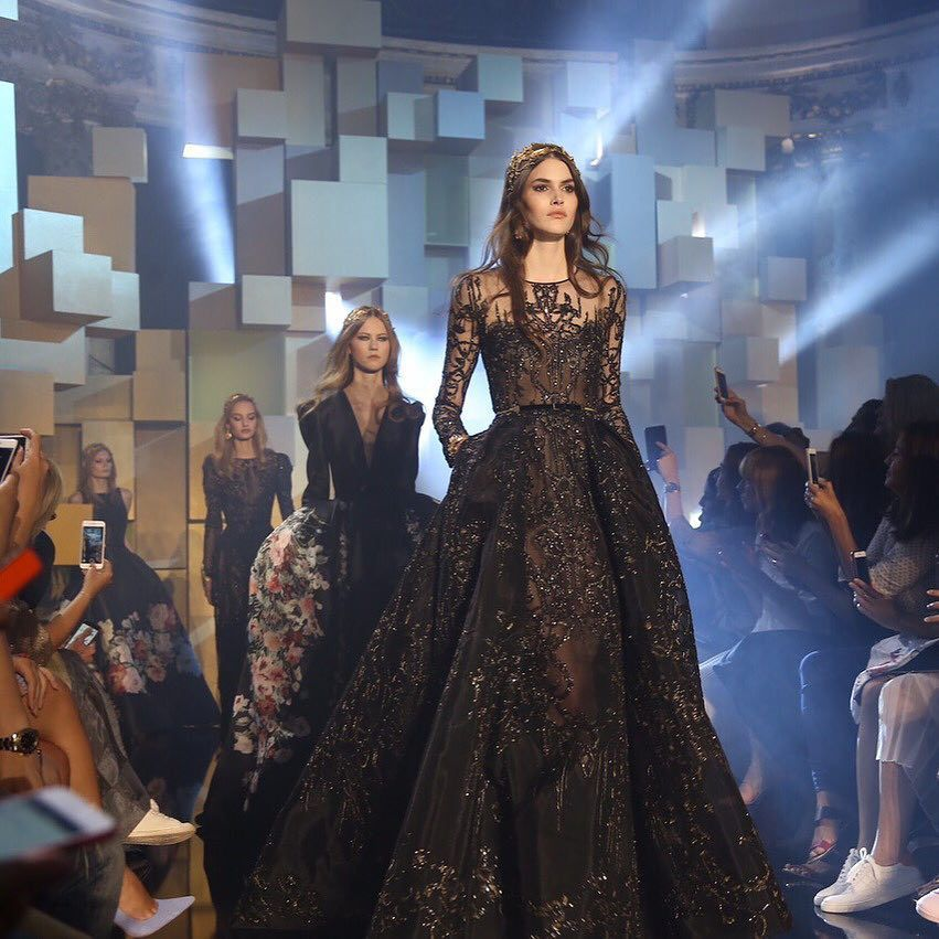 The grand finale. In case you missed it, watch the ELIE SAAB Haute Couture show on #TheLightOfNow | Link in bio - Photo Credit: @fashiontomax