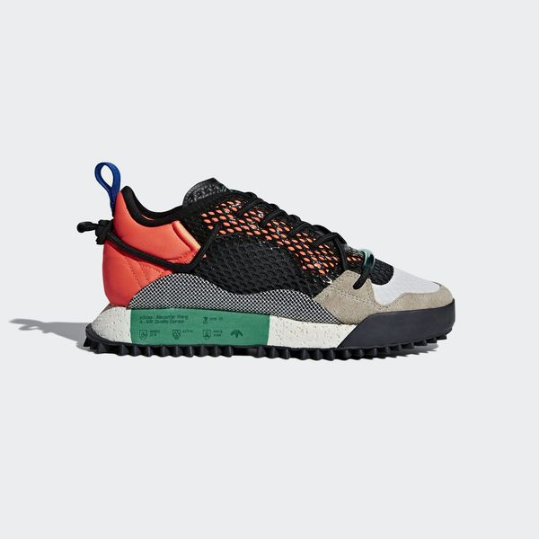 finest selection 1ad96 a91b3 adidas Originals by Alexander Wang Run Mid Schoenen oranje AQ1233