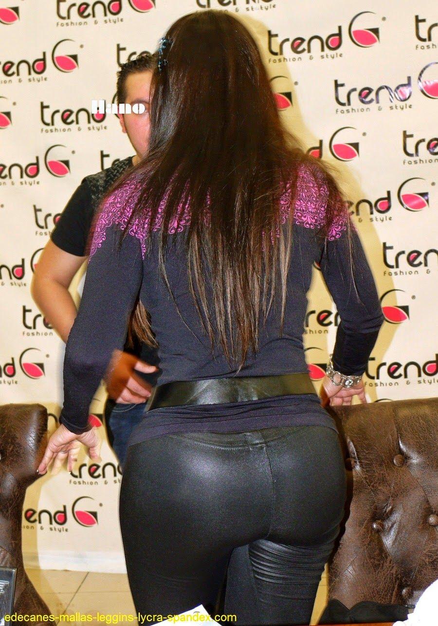 Negra culona leggins negros ricota panoramica del culote - 1 part 5