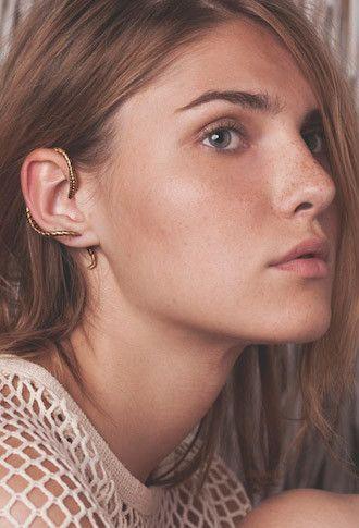 Cool earring.