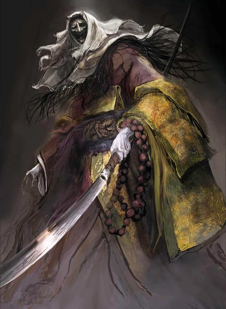 Corrupted Monk Art from Sekiro: Shadows Die Twice #art #artwork