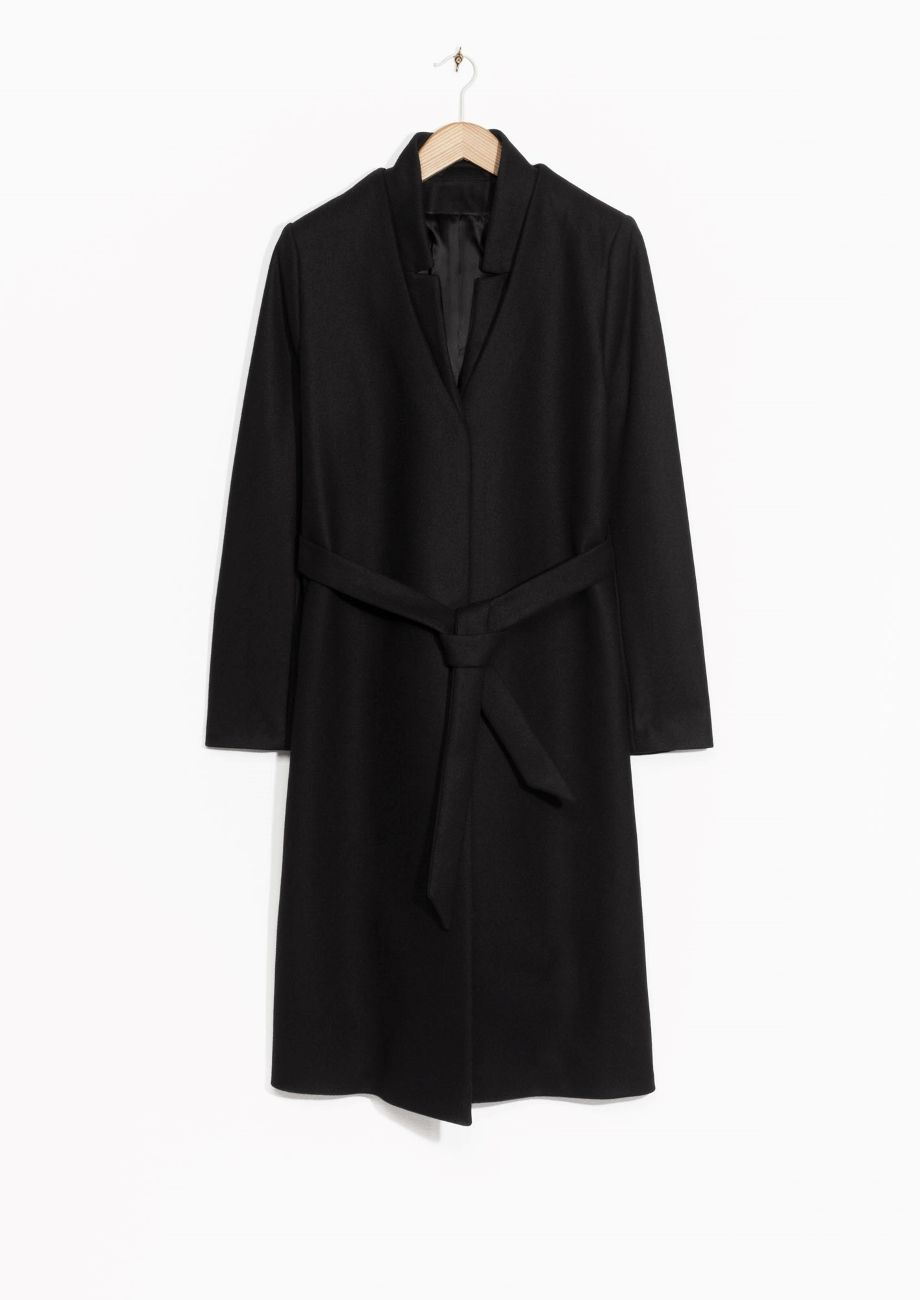 Wool-Blend Coat // & Other Stories