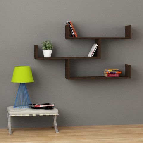 Simple And Stylish Floating Wall Shelf, The Tibet Wall Shelves Would Make A  Stunning Feature On An Empty Wall. Consisting Of Three Shelves.