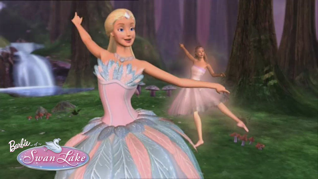Beauty of Ballet | Barbie of Swan Lake | pink.... purple ...