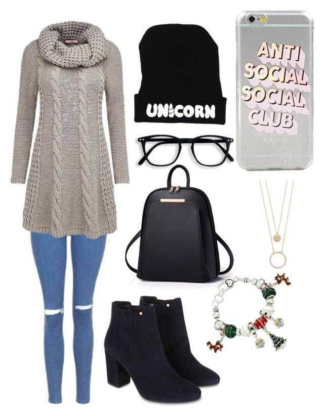 """""""Untitled #94"""" by veronica-busenius on Polyvore featuring Topshop, Joe Browns, Monsoon and Kate Spade"""