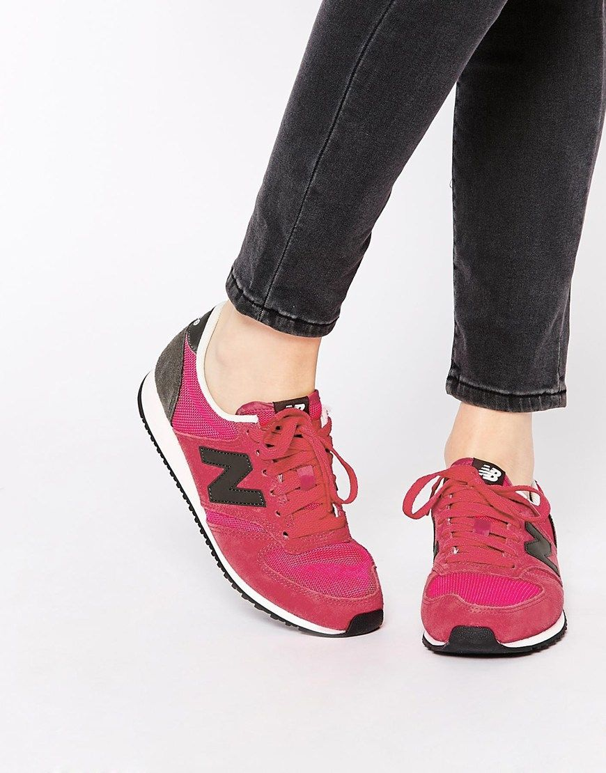New Balance | New Balance 420 Fuschia Trainers at ASOS | wishlist ...