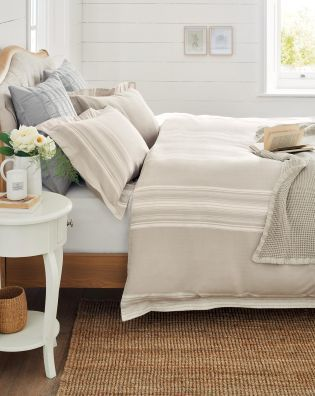 Captivating Buy Country Luxe 200 Thread Count Hatton Herringbone Bed Set From The Next  UK Online Shop
