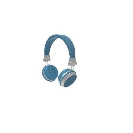 Sharper Image Chic Fabric Bluetooth Wireless Headphones Black Wireless Headphones Headphones Bluetooth