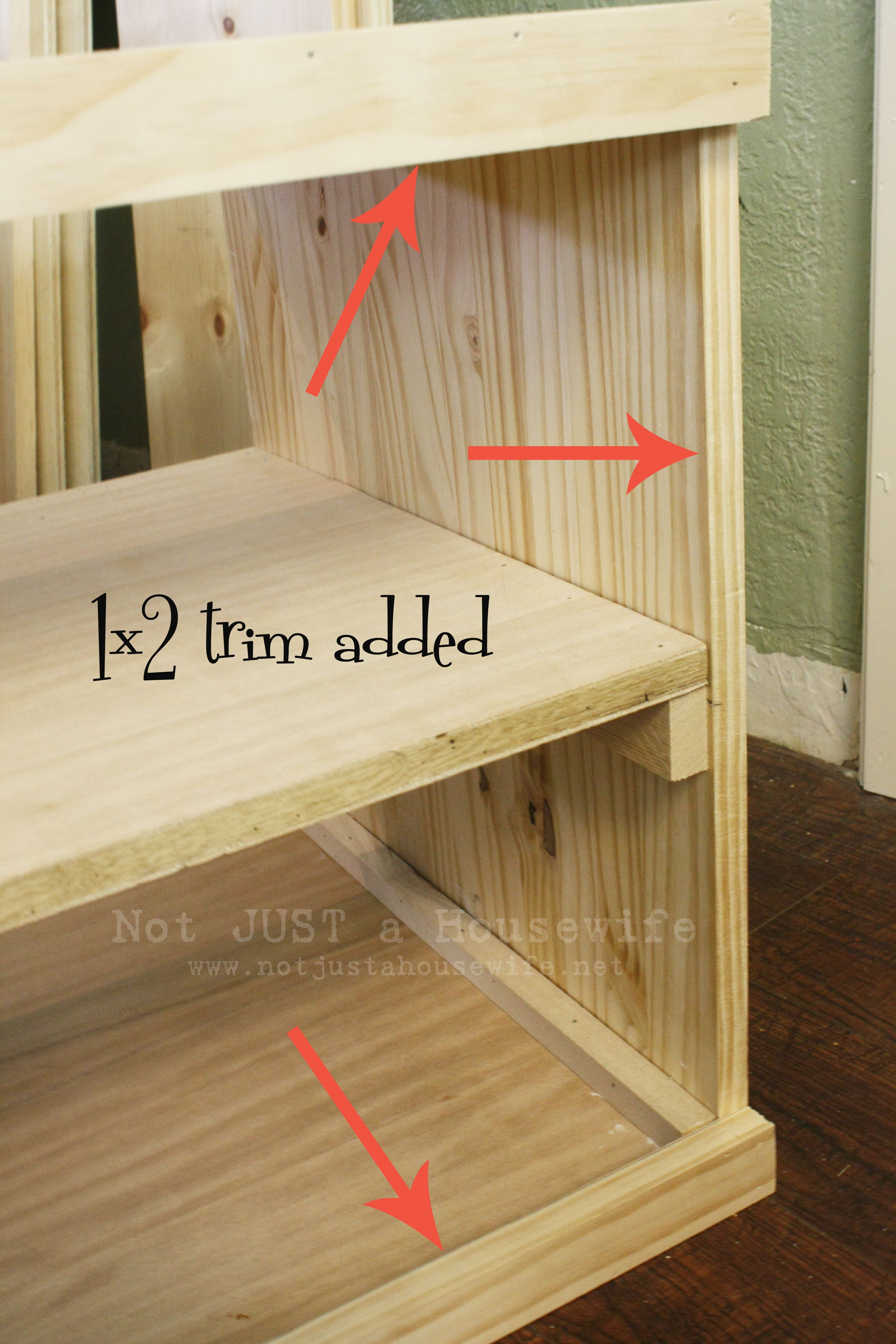 How To Build A Storage Bench Diy